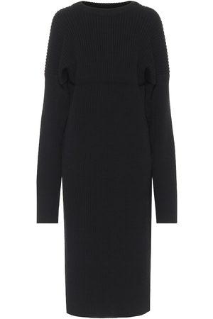 Bottega Veneta Wool-blend knit midi dress