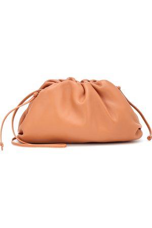 Bottega Veneta The Mini Pouch leather clutch
