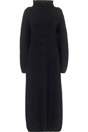 Jil Sander Kvinder Maxikjoler - Wool-blend mockneck maxi dress