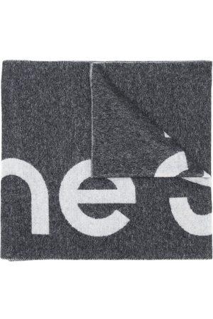 Acne Studios Logo jacquard scarf