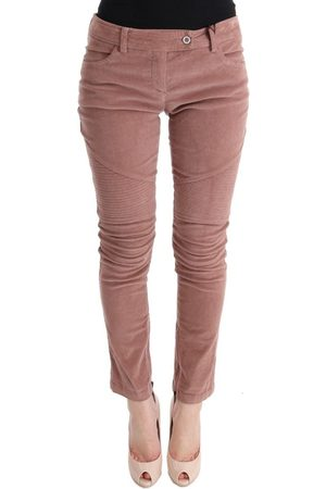 ERMANNO SCERVINO Velvet Cropped Casual Pants