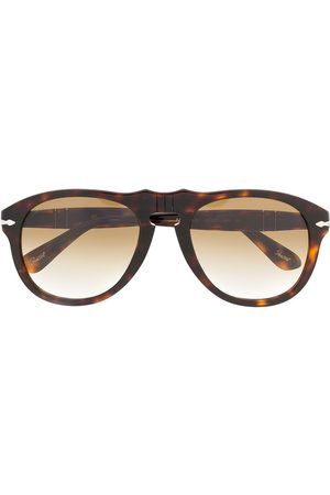 Persol Runde solbriller med skildpadde-effekt