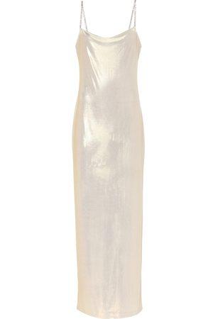 Balmain Exclusive to Mytheresa – Lamé slip dress