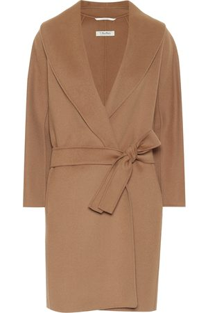 Max Mara Messi belted virgin-wool coat