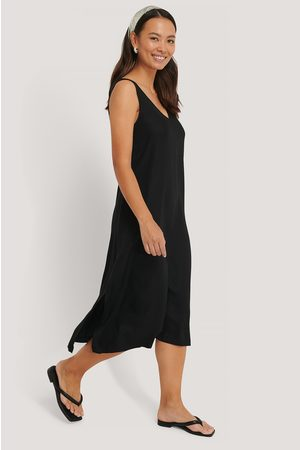 NA-KD Kvinder Midikjoler - V-Neck Sleeveless Midi Dress
