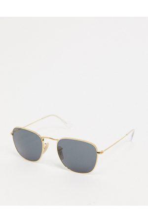 Ray-Ban Runde guldfarvede metalsolbriller -ORB3857