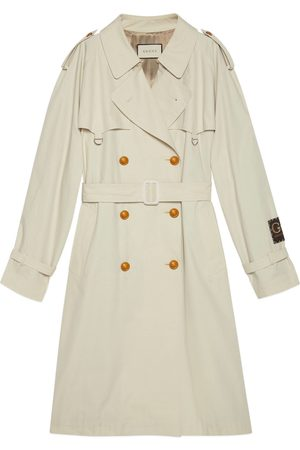 Gucci Cotton trench with label