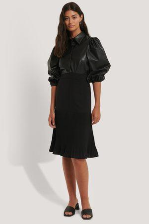NA-KD Kvinder Midinederdele - Pleated Detail Skirt