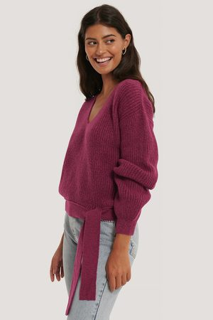 NA-KD Knot Detail Knitted Sweater