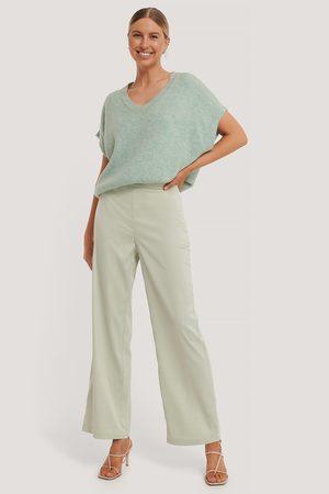 NA-KD Kvinder Kassebukser - Satin Suit Pants