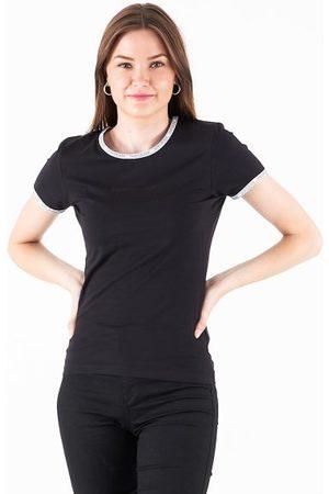 Calvin Klein Kvinder Toppe - Logo trim ss top