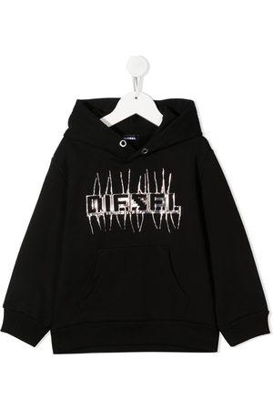 Diesel Logo print hoodie