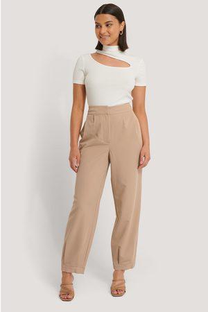 NA-KD Kvinder Bukser - Darted Suit Pants