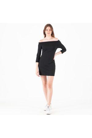 Calvin Klein Kvinder Bandeaukjoler - Off the shoulder milano dress