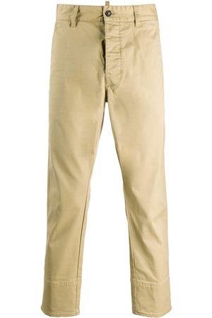 Dsquared2 Cropped chinos med tætsiddende pasform