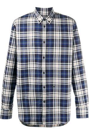 Dsquared2 Mænd Langærmede - Ternet skjorte med knapper