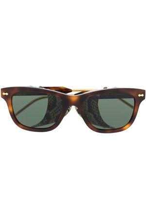 Gucci Mænd Solbriller - Solbriller med firkantet stel