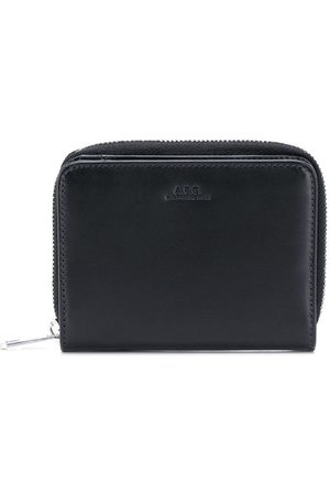 A.P.C Debossed logo compact wallet