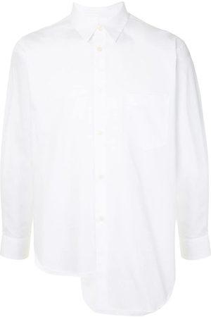 Comme des Garçons High-low skjorte i poplin