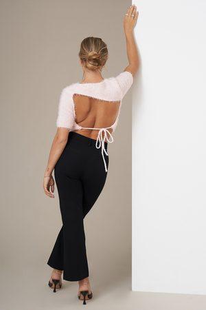 NA-KD Kvinder Kassebukser - Kick Flare Suit Pants