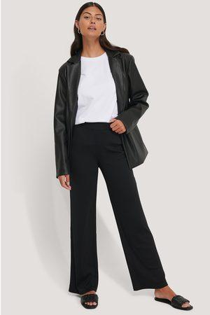 NA-KD Kvinder Bukser - Ribbed Jersey Pants