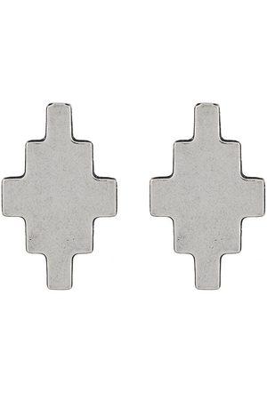 MARCELO BURLON Mænd Øreringe - øreringe med kors-vedhæng