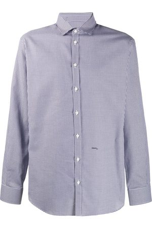 Dsquared2 Ternet bomuldsskjorte