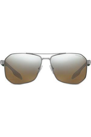 Prada Mænd Solbriller - Linea Rossa-solbriller med firkantet stel