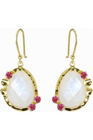 Dinari Jewels Mona Moonstone Earrings