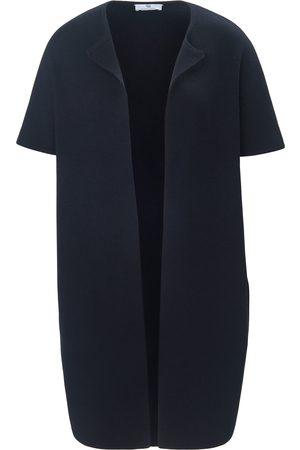 Peter Hahn Coat-cardigan rund hals Fra blå