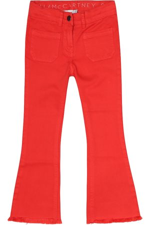 Stella McCartney Stretch-cotton flared jeans