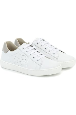 Gucci Drenge Sneakers - Ace leather sneakers