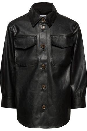 Designers Remix G Marie Shirt Coat Outerwear Jackets & Coats Leather Jacket
