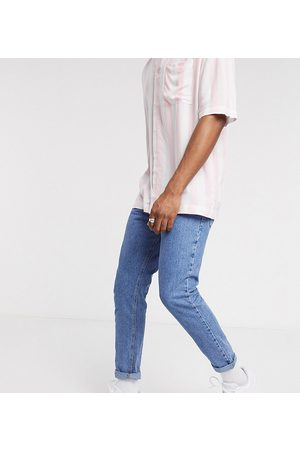 COLLUSION X003 - Stenvaskede tapered jeans