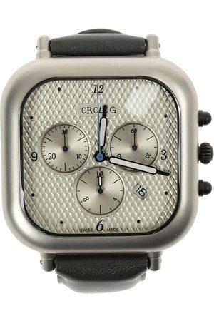 Orolog By Jaime Hayon Square analog water resistant watch