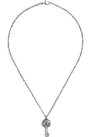 Gucci GG-halskæde med nøgle-vedhæng