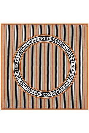 Burberry Tørklæder - Icon Stripe logo scarf