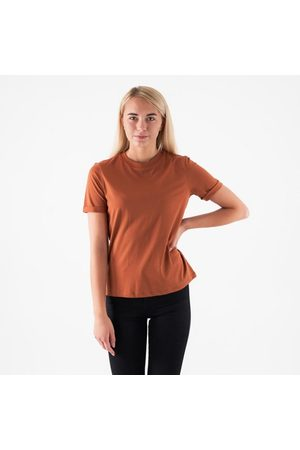 Pieces Pcria ss fold up solid tee