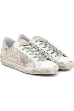 Golden Goose Kvinder Sneakers - Superstar croc-effect sneakers