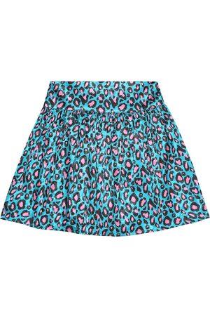 Marc Jacobs Leopard-print satin miniskirt
