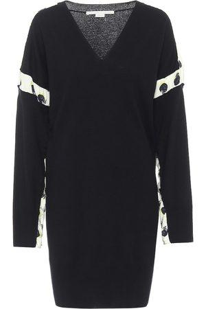 Stella McCartney Wool and silk minidress