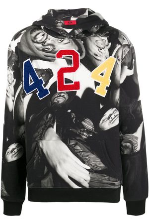 424 FAIRFAX X Wu Tang photo-print hoodie