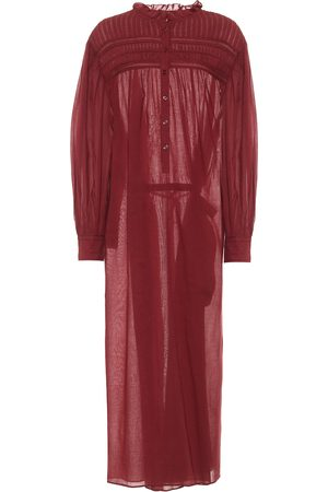 Isabel Marant Kvinder Maxikjoler - Perkins cotton voile maxi dress