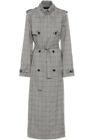 GABRIELA HEARST Lorna checked wool trench coat