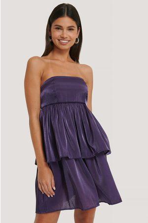 NA-KD Kvinder Festkjoler - Off Shoulder Mini Dress