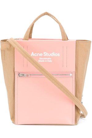 Acne Studios Stofposer - Tote med logotryk