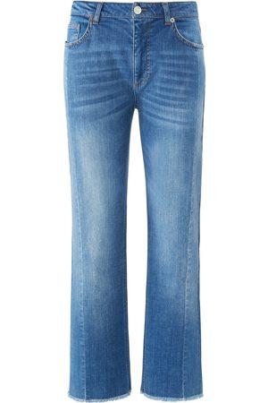 DAY.LIKE Ankellange Wide Fit-jeans Fra denim