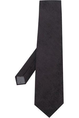 Gianfranco Ferré Tekstureret slips med bølgetryk fra 90'erne
