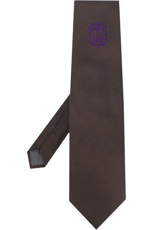 Gianfranco Ferré 1990'er Archive Ferré slips med logo-broderi