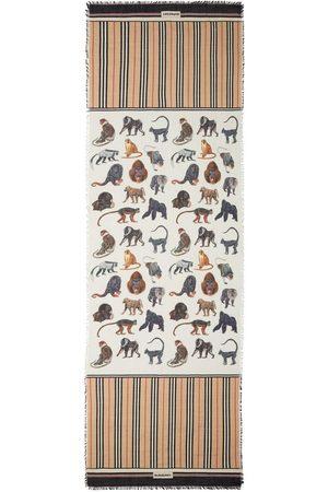 Burberry Monkey print scarf
